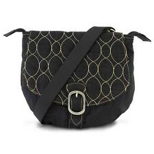 Travelon Crinkle 3 Compartment Flapover Crossbody Shoulder Bag Purse