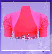 Girls Pink Bolero Shrug Kids Wedding Flower Girl * Last Few sizes Remaining *