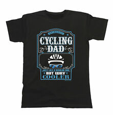 Cycling Dad Mens Cyclist T-Shirt Gift Birthday FATHERS Day Christmas Bike Ride