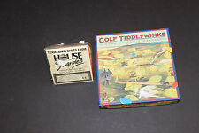 Golf Game by house of marbles or Golf Tiddleywinks Past Times
