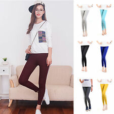 CHIC New Women's Spring Summer Lined Stretchy Slim Leggings Pants Sports Pants