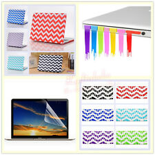 "4in1 Wave Wavy Pattern Hard Case Cover for MacBook 12"" Air Pro 11"" 13""15""+Retina"