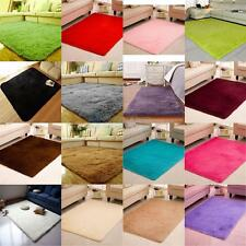 Anti-Skid Fluffy Rug Shaggy Area Rug Home Dining Room Home Carpet 16 Colors