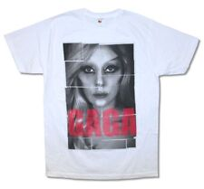 Lady Gaga Pop Blocks White T Shirt New Official Adult