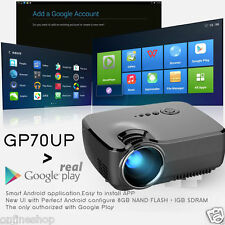 HD 1080P Mini Projector LED Home MulitMedia Theater Cinema USB TV VGA SD HDMI