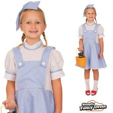 Child Dorothy Wizard of Oz Book Week Fairytale Girls Fancy Dress Costume