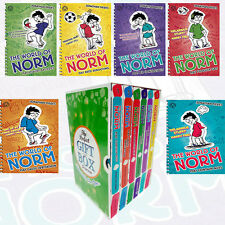 Jonathan Meres World of Norm Vol(1-6) 6 Books Collection Set GiftWrappedSlipcase