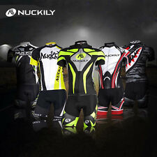 Sports Cycling Jersey & Shorts Set Men's Bike Bicycle Short Sleeves Wear Suits