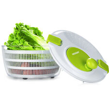 Kitchen Cook Aid Fruit Vegetable Herb Salad Spinner Dryer Colander Strainer