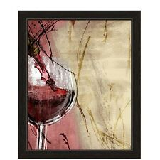 Click Wall Art Artistic Pouring Red Wine Framed Painting Print