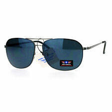 Air Force Sunglasses Rounded Square Aviators Mens Fashion UV 400