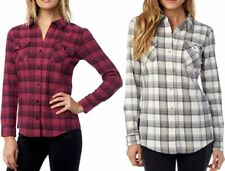 Fox Racing Womens Variegate Long Sleeve Flannel Shirt