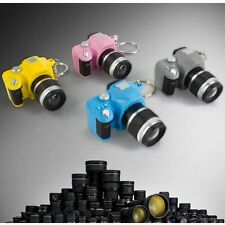Mini Toy Camera Charm Lucky Keychain With Flash Light & Sound Effect Gifts New
