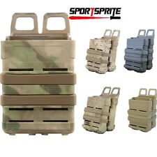 Airsoft Fast Mag Pouch Set Holster 5.56 Magazine Double Molle Strike System