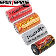 TrustFire 18350 3.7V 700&800&1200mAh Rechargeable Li-ion Battery For Flashlight