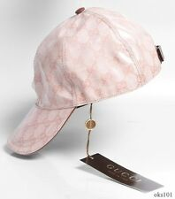 new mens/unisex GUCCI beige/brown crystall GG LOGO hat baseball cap L 100% auth