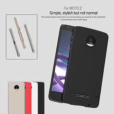 Nillkin Frosted Shield Matte PC Hard Cover Skin Case + LCD Guard For MOTO Z