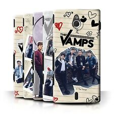Official The Vamps Case/Cover for Sony Xperia Sola/MT27i /The Vamps Doodle Book