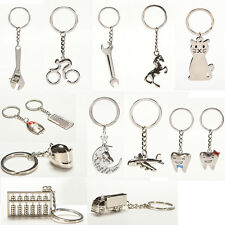 New Creative Metal Keychain  Key Ring Key Chain Key 12 Pattern Choose Decor AT