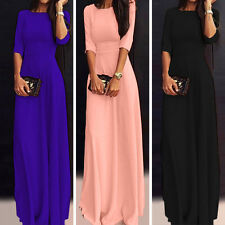Elegant Women Chiffon Slim Bridesmaid Formal Party Cocktail Prom Gown Maxi Dress