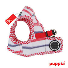Any Size - PUPPIA - SAPPY - Soft Dog Puppy Harness Vest - Red