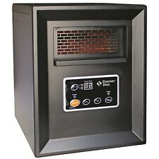 Comfort Zone Portable Electric Infrared Cabinet Heater