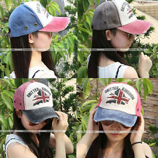 New Woman Man Fashion Golf Cap Adjustable Baseball Cap Vintage Hats Ball Cap Hot