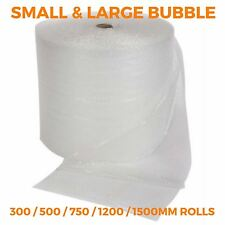 Bubble Wrap Rolls - 300mm 500mm 750mm 1200mm 1500mm - Small & Large - 50m 100m