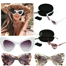 Eyewear Women Retro Vintage Shades Fashion Frame Cat Eye Outdoor Sunglasses