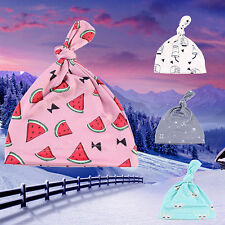 Baby Girl Boy Cartoon Hat Sun Watermelon Printing Soft Creative Bow Cap Popular