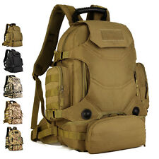 Multi-Function Tactical Backpack Outdoor Hiking Backpack Military Build Up Army