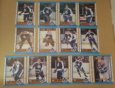 1989-90 OPC TORONTO MAPLE LEAFS Select from LIST NHL HOCKEY CARDS O-PEE-CHEE