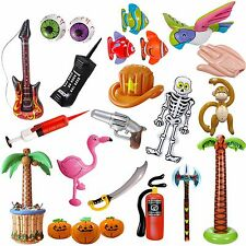 INFLATABLE DECO MEGA SELECTION mit Animals Halloween Party Musik