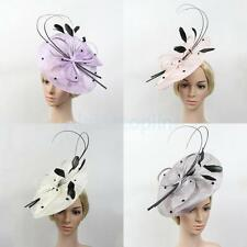 Large Headband Aliceband Hat Fascinator Wedding Ladies Church Tea Party Headwear