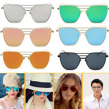 Vogue UV400 Retro Metal Frame Aviator Mens Women Sunglasses Eye Glasses Eyewear