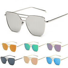 Mens Women Vogue Eyewear UV400 Retro Metal Frame Aviator Sunglasses Eye Glasses