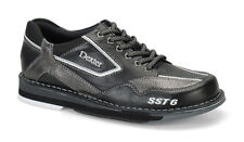 Bowling Shoes Dexter Men's SST 6 LZ black/grey with Change sole, Professional