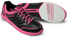 Bowling Shoes Women Brunswick ick Diamond black/pink for Right and Left-handed
