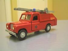 Dinky Toys 282 Land Rover Fire Appliance truck made in England