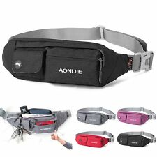 Outdoor Sports Camping Waist Fanny Pack Bum Belt Bag Pouch Bag Travel Hip Purse