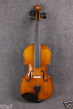 New electric Acoustic violin Maple Spruce wood Hand made Powerful Sound 5 string