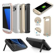 For Samsung Galaxy S7 & S7 edge External Battery Backup Case Charger Power Bank