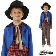 Artful Dodger Costume Dickensian Victorian Boy Fancy Dress World Book Day Week