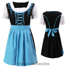 K216 Ladies Oktoberfest Costume Bavarian German Heidi Dirdnl Leiderhosen Beer