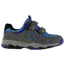 Jack Wolfskin Kids Attack 2 Low Walking Strap Shoes Velcro Panelled Outdoor