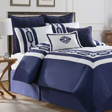 Soho New York Hotel Embroidery 8 Piece Comforter Set