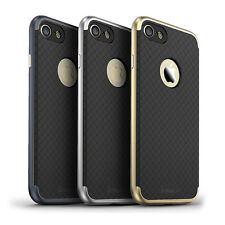 New Luxury  Armor Hard Bumper Soft Rubber Matte Case Cover For iPhone 7/7Plus