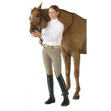 Ovation Girl's Euro Seat Knee Patch Side-Zip Breeches