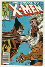 Uncanny X-Men 1987 #222 Very Fine/Near Mint Wolverine Sabretooth