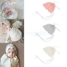 Baby Floral Lace Embroidery Bonnet Toddler's Hat Infant Photography Accessory
